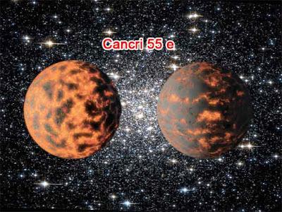Planet Cancri 55 e