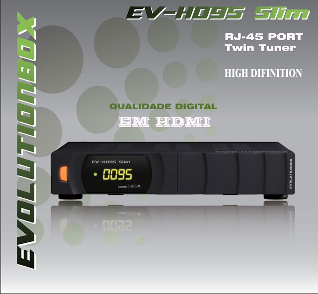 243f0n8 - Recovery EVOLUTIONBOX EV-HD95 Slim Completo em vídeo