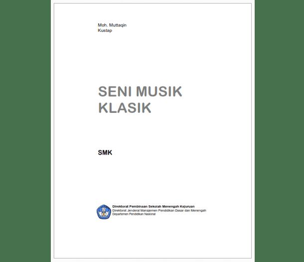 Buku SMK Seni Musik Klasik