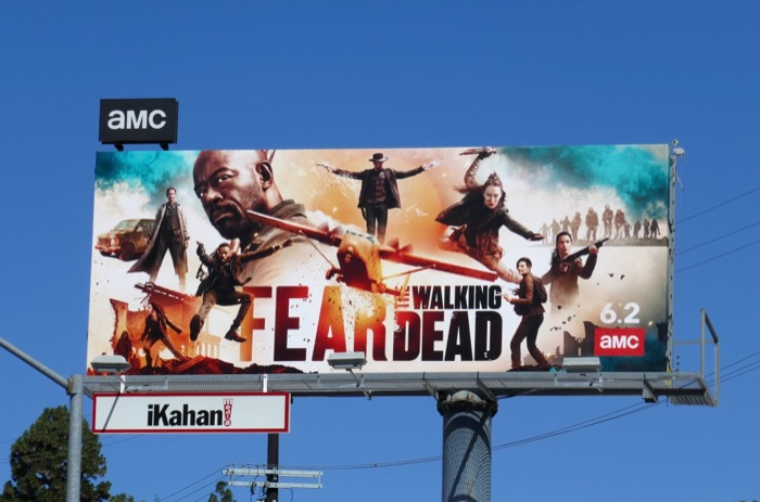 Fear the Walking Dead season 5 billboard