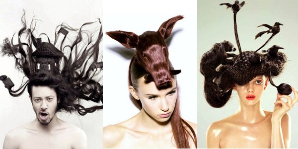 Hair Sculptures By Nagi Noda The HairCut Web