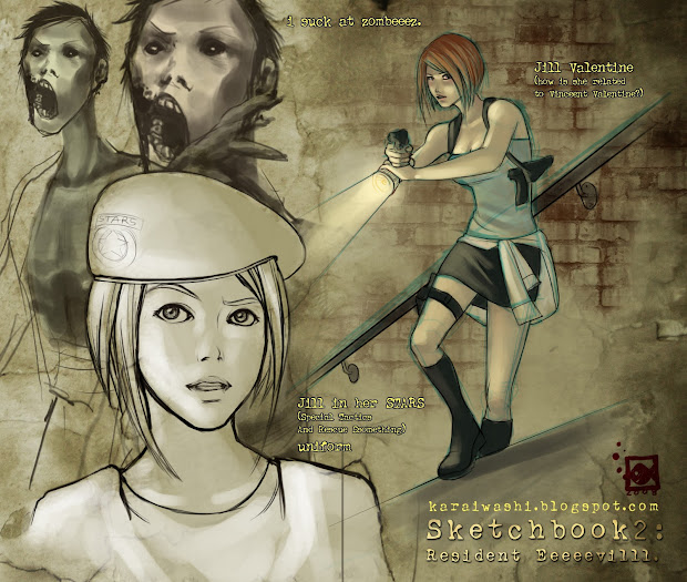 Gaming Rocks Game Art #20 Resident Evil