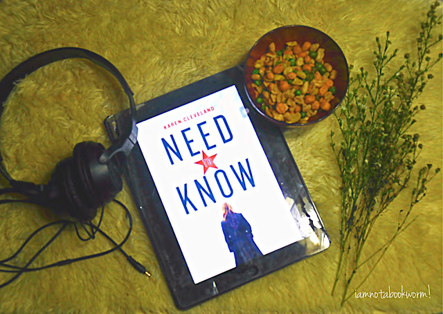 Need to Know by Karen Cleveland | A Book Review by iamnotabookworm!