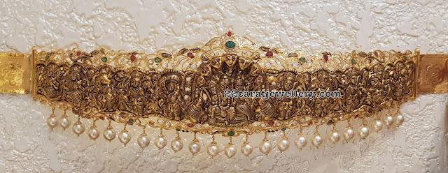 Latest Waistbelts by Sri Mahalaxmi Jewellers