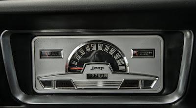 1968 Jeep Wagoneer Classic SUV Speedometer