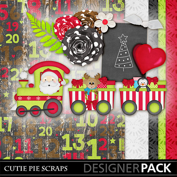 July Blog Train (2018) - Free Digital Scrapbook Kits