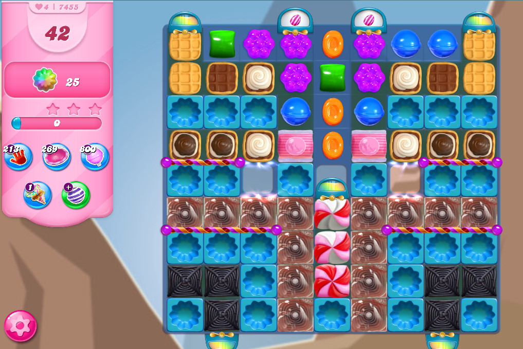 Candy Crush Saga level 7455
