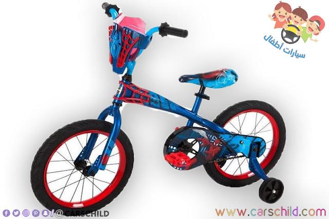 دراجة سبايدرمان خاصة بالاطفال