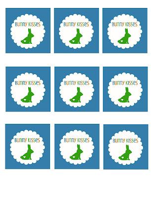 printable Easter favor tags