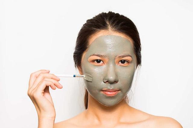masker untuk wajah belang