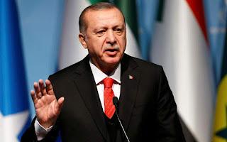 Ερντογάν: Θέλουμε ειρήνη και όχι άλλες εντάσεις με την Ελλάδα