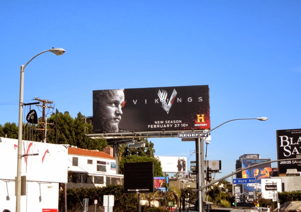Vikings season 2 billboard