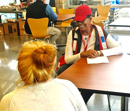 Red Cross Mental Health Volunteers Help Wildfire Survivors Cope with Loss