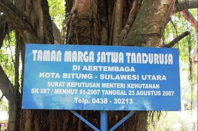 Wisata Manado - Taman Wisata Tandurusa