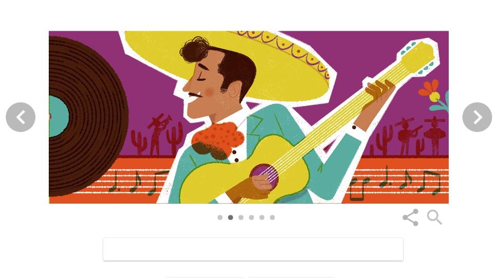 Pedro Infante Doodle Google 18 Novembre