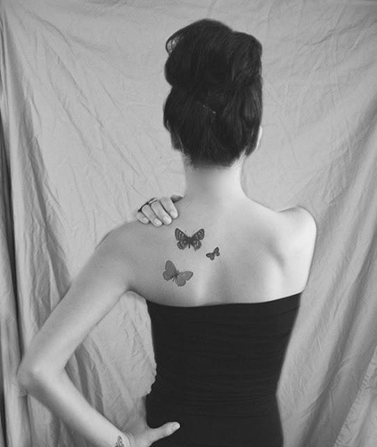tatuajes para mujeres en la espalda de lunas