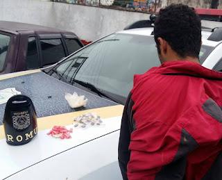 ROMU Jandira - Preso mais um traficante de drogas na cidade de Jandira