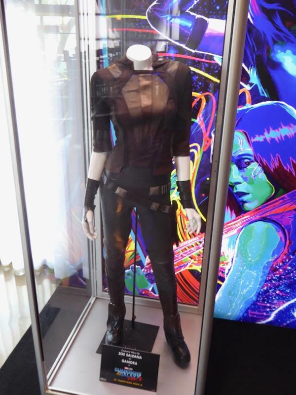 Gamora Guardians of Galaxy 2 film costume