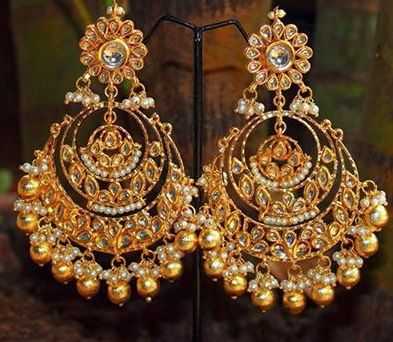 balis earrings chand bali earrings an exle of exquisite architecture 1244