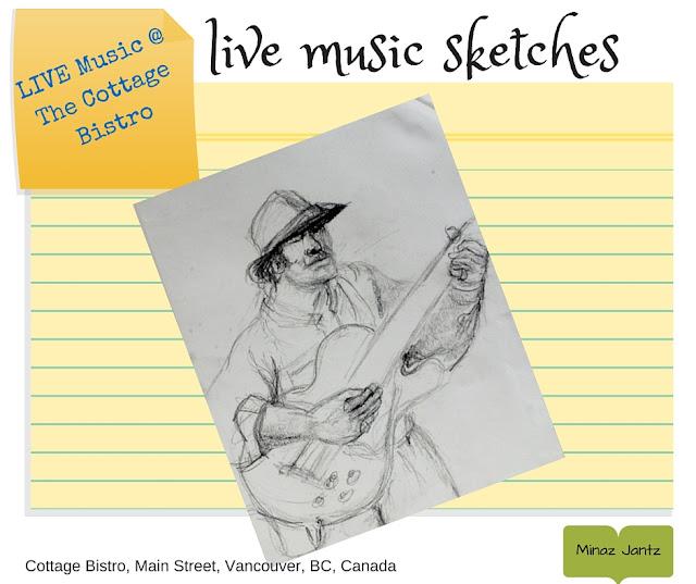 Live at the Cottage Bistro by Minaz Jantz