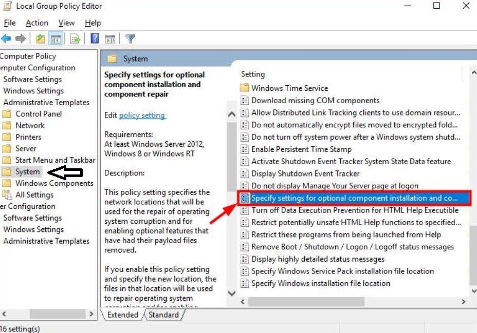 حل مشكلة error 0x800F081F في ويندوز 10 - Net framework