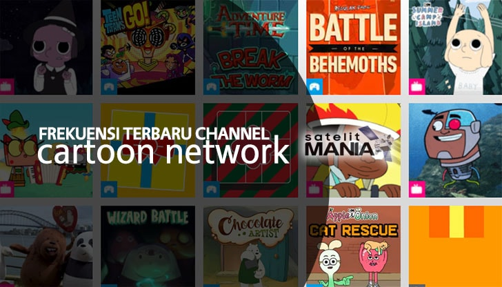 Frekuensi Terbaru Cartoon Network Asia di Parabola 2019