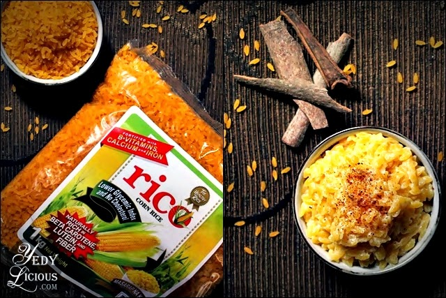 RiCo Corn Rice, Healthy Alternative to Rice, RiCo Corn Rice Recipes, YummyHealthy, Where To Buy RiCo Corn RIce, How To Cook Rico Corn RIce, RiCo Corn Rice Website, Facebook, Twitter, Instagram, Contact No.,RiCo Corn Rice Recipe, Milky Corn Rice with Cinnamon and Nutmeg