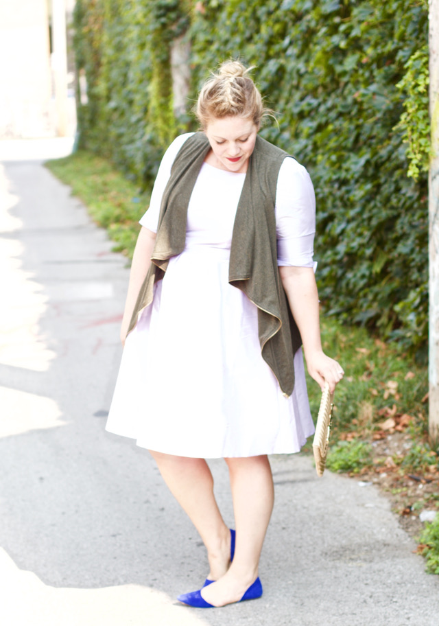 Summer into fall outfit ideas with easy layering