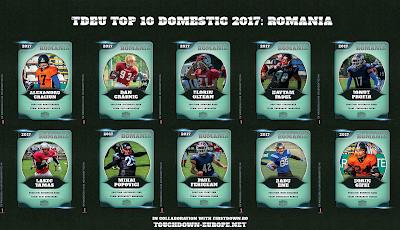 TDEU Top 10 Domestic 2017: ROMANIA