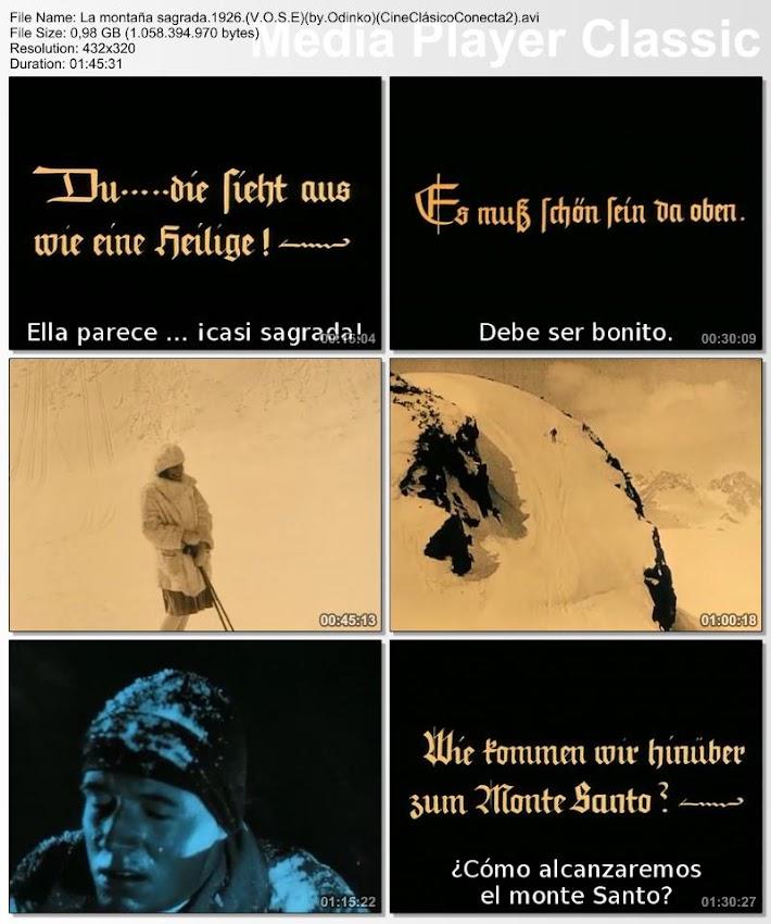 Der heilige Berg | 1926 | La montaña sagrada
