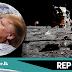 මිනිසෙකු නැවත සඳට යවන්න  - ට්රම්ප් NASA ආයතනයට කියයි