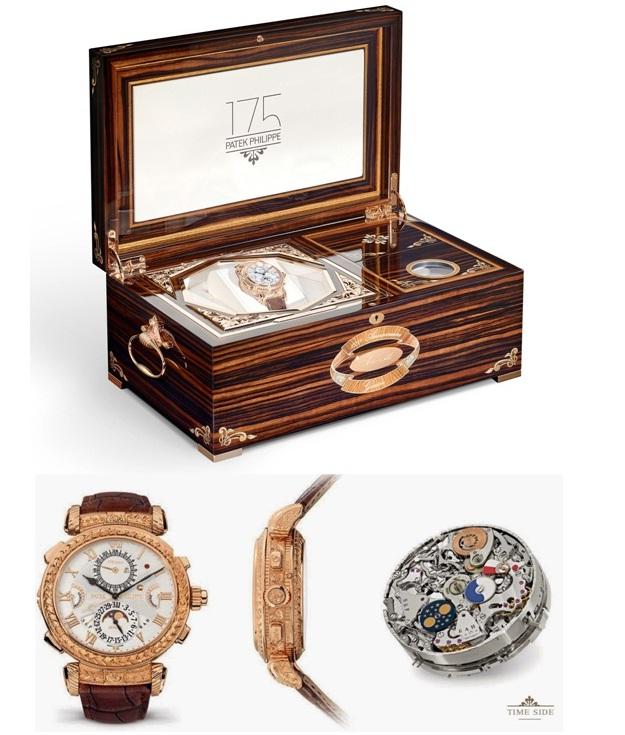 Jam tangan Patek Phillipe Grandmaster Chime ini juga hanya diproduksi 7  buah saja di dunia 1f8cf472e1