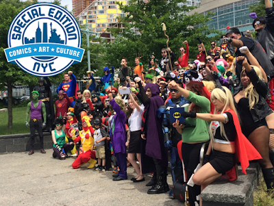 cosplayers Special Edition NYC superheroes pictures