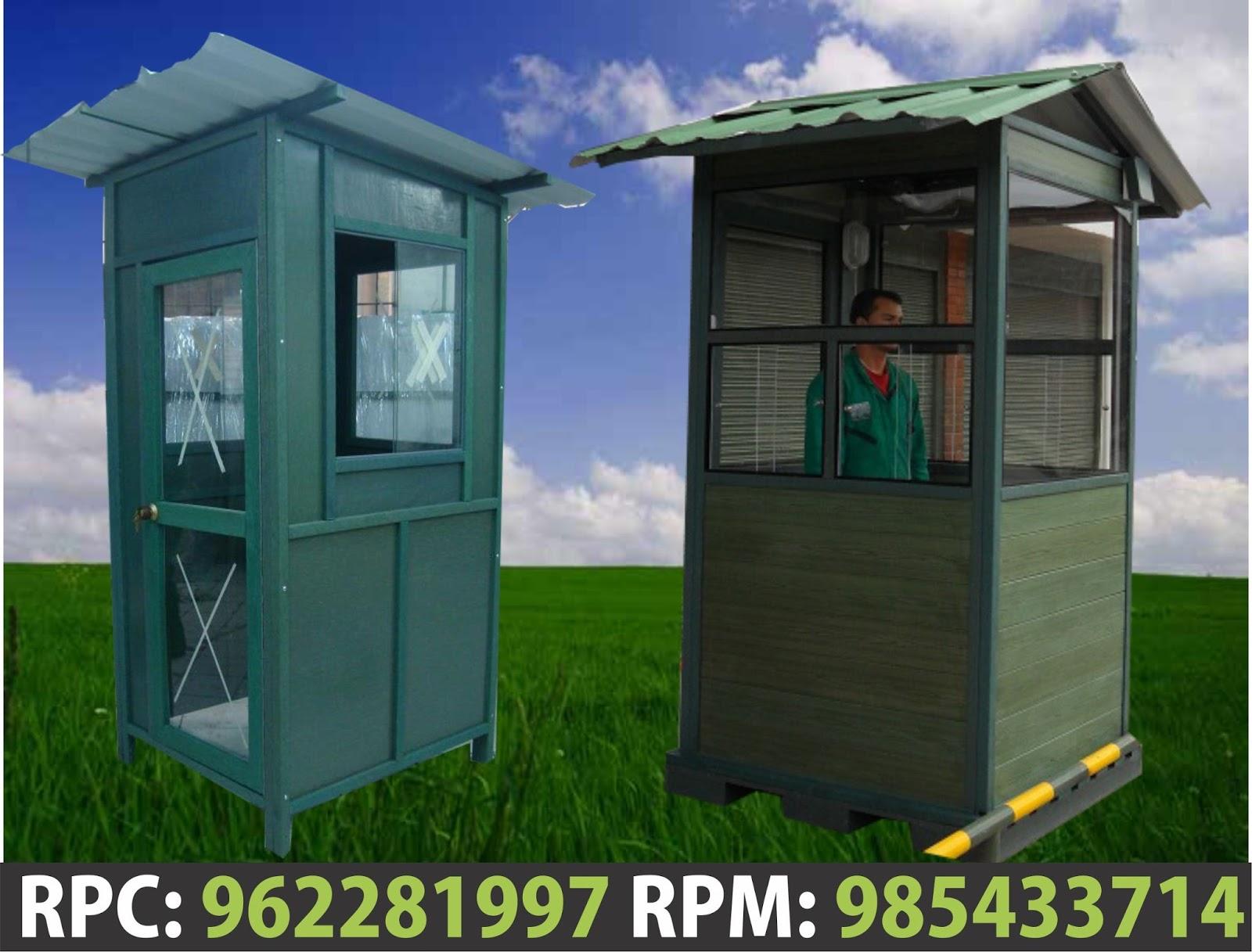 Casetas de seguridad casetas de vigilancia modelos dise os for Casetas para guardar cosas