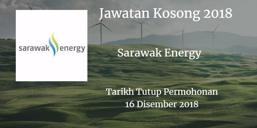Jawatan Kosong Sarawak Energy 16 Disember 2018