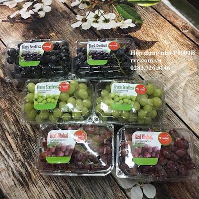 Có nên sử dụng hộp nhựa để đựng trái cây