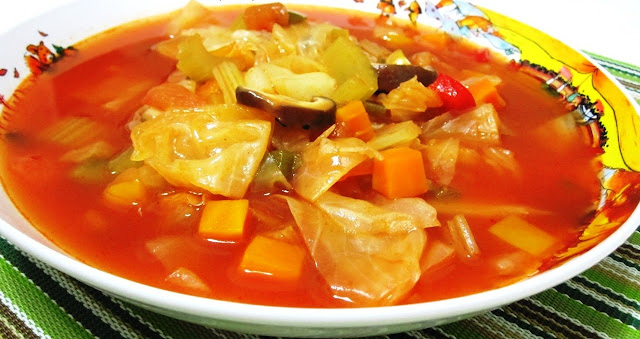 Cabbage soup dieting