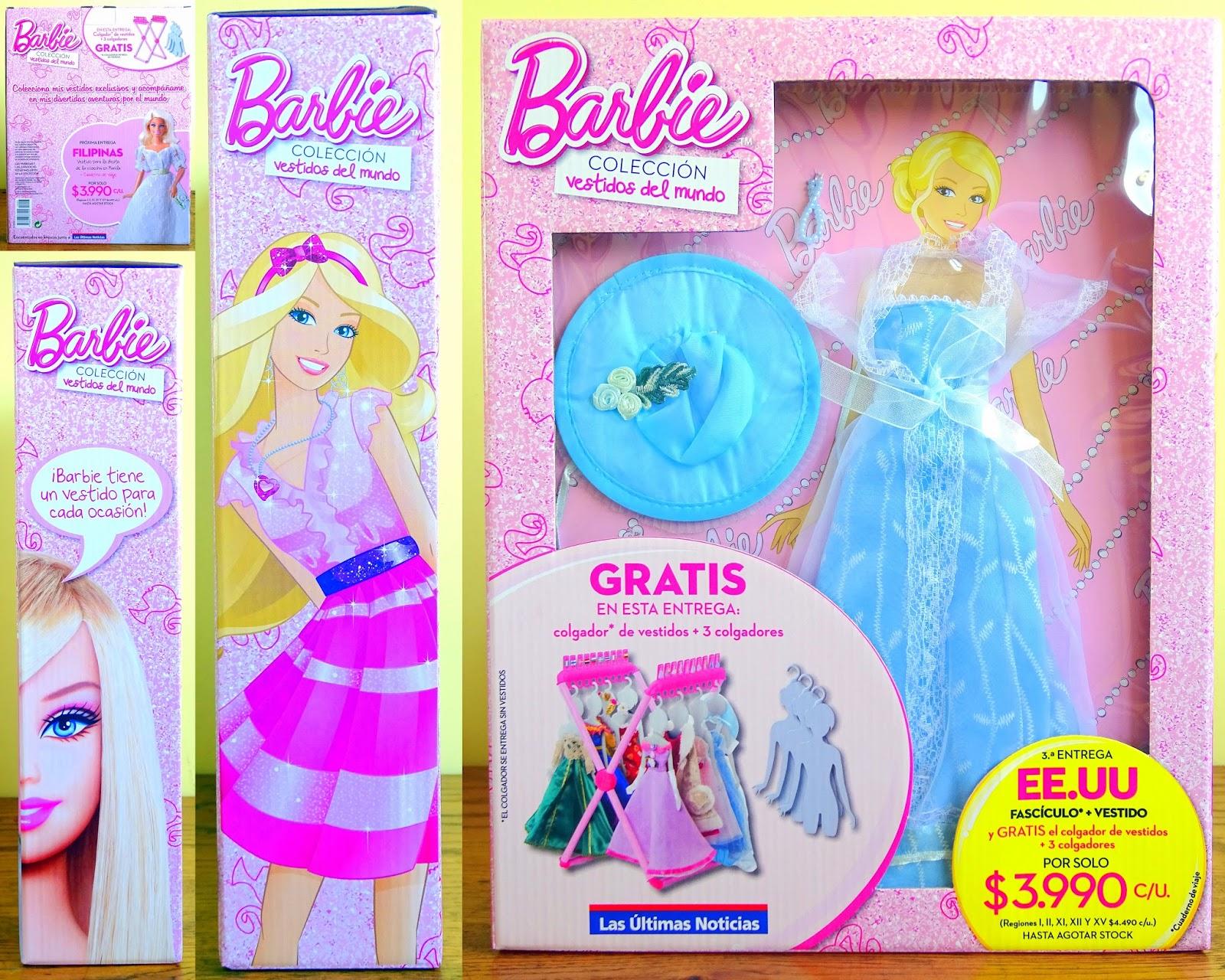 Los vestidos mas bonitos de barbie