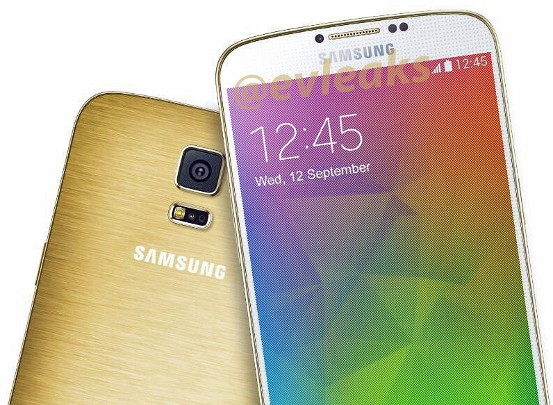 Samsung Galaxy F (S5 Prime) Warna Emas Muncul