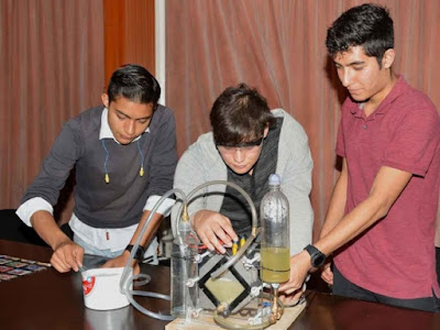 Mexicanos crean prototipo para transformar agua en combustible