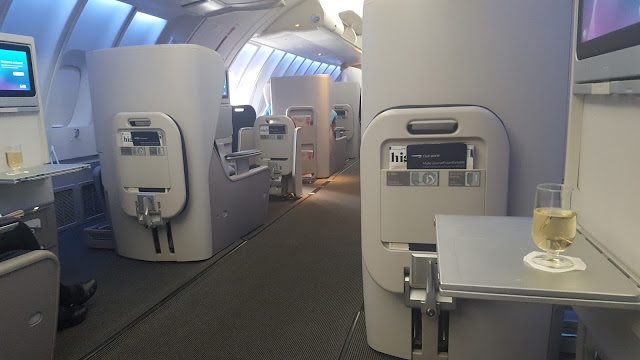 What it's like to fly Business Class with British Airways