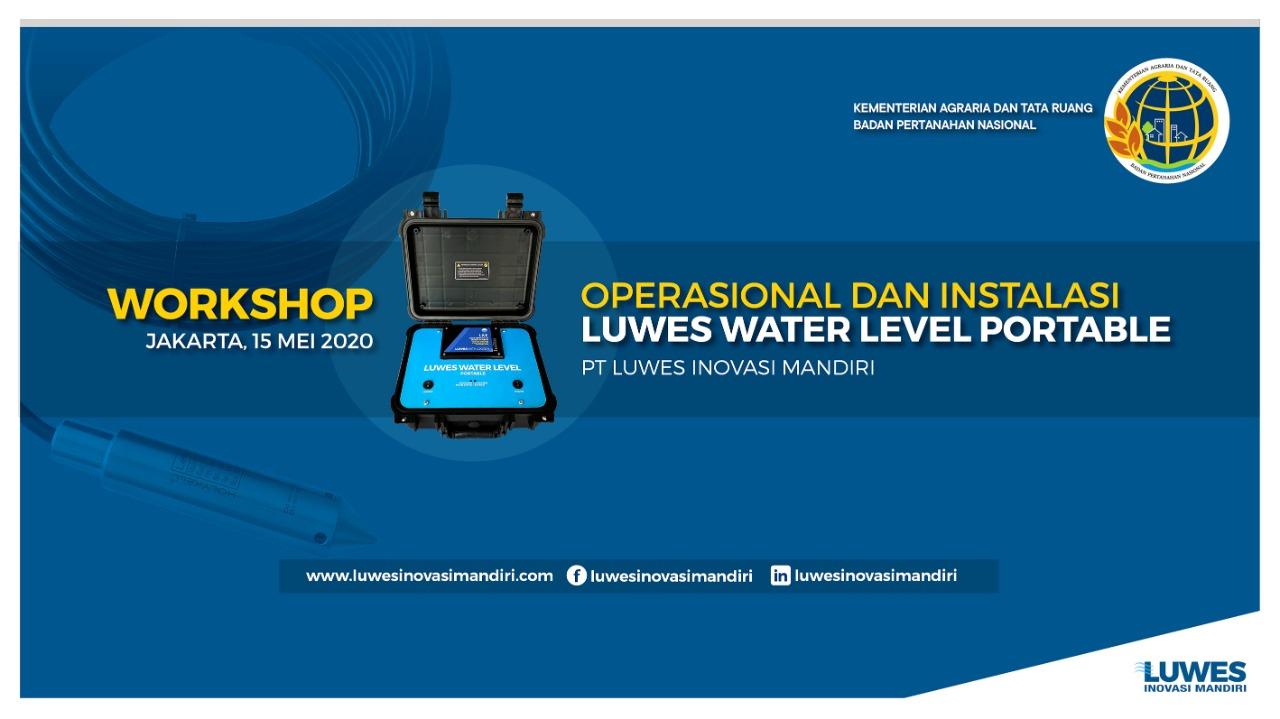 Workshop Online Water Level Monitoring Bersama Kementerian ATR BPN