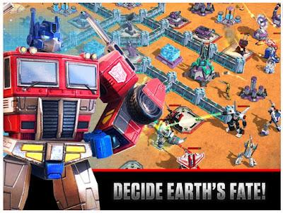 Download Transformers: Earth Wars Apk Terbaru 2016