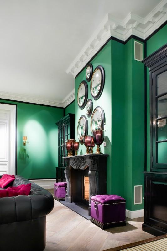 decoratiuni interioare semineu aparent tv semineu profile orac decor. Black Bedroom Furniture Sets. Home Design Ideas