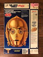 Kellogg's C-3PO's Cereal Box C-3PO  Mask