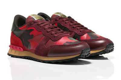 Valentino Trainers, Lux Junky, Men's Designer Trainers