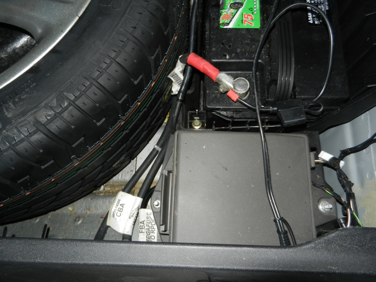 jaghelp com: 2005 xj fuse location and id trunk fuse box  2007 jaguar xk