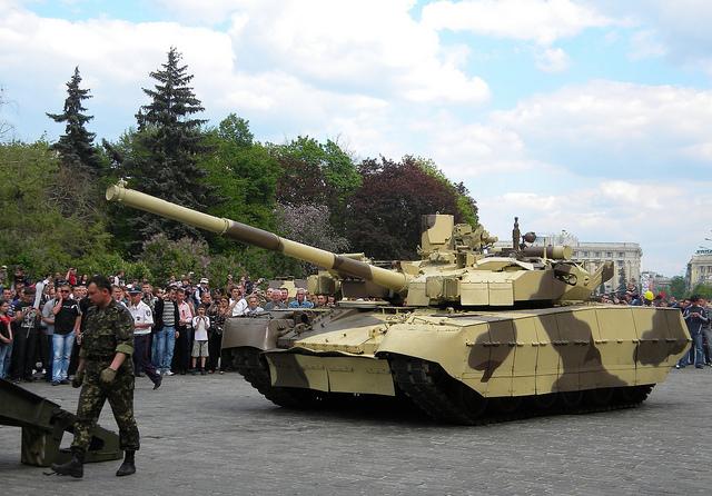 T-84 Oplot model tank pic