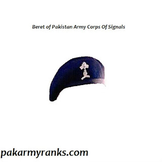 Pakistan Army Corps Of Signals Beret