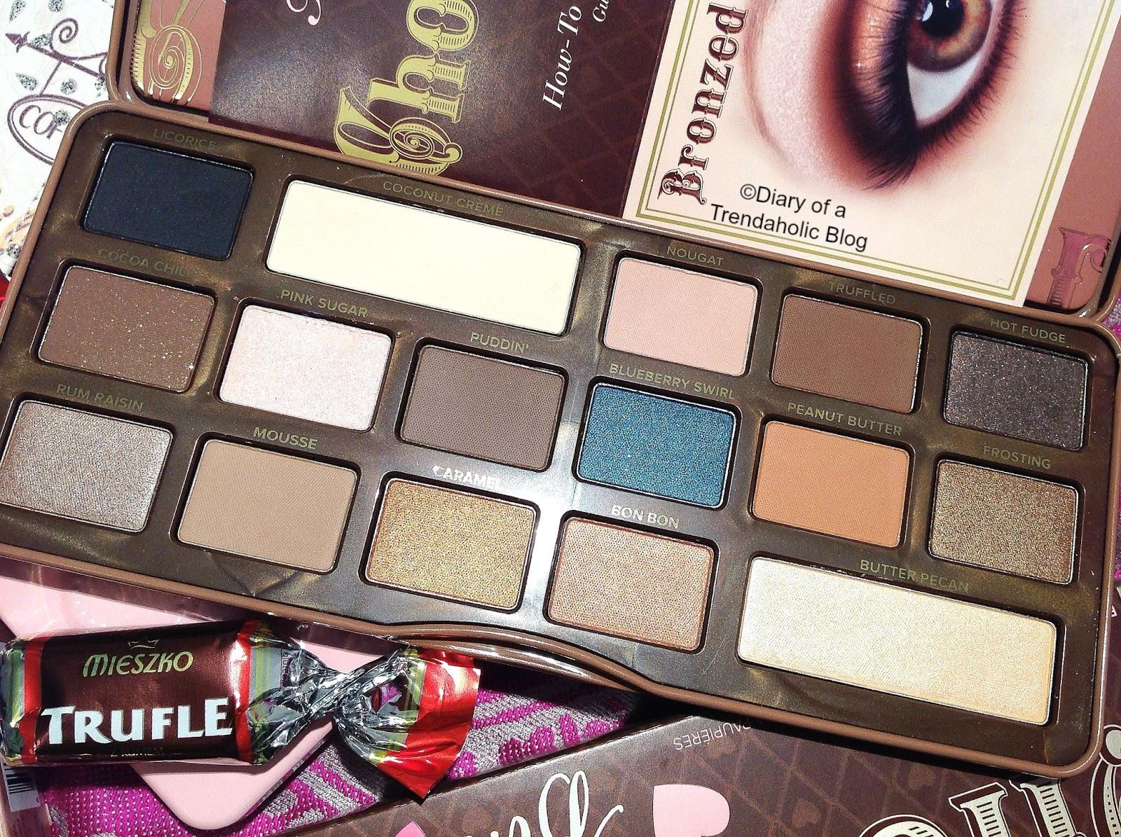 Diary Of A Trendaholic Too Faced Semi Sweet Chocolate Bar